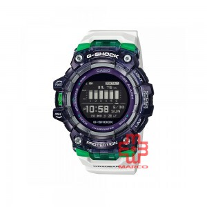 Casio G-Shock GBD-100SM-1A7 White Resin Band Men Sports Watch