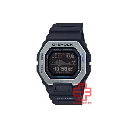 Casio G-Shock GBX-100-1 Black Resin Band Men Sports Watch