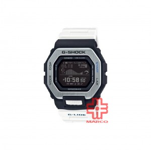 Casio G-Shock GBX-100-7 White Resin Band Men Sports Watch