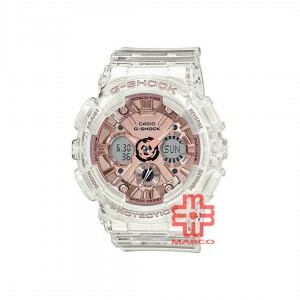Casio G-Shock GMA-S120SR-7A Semi-transparent Band Women Sports Watch