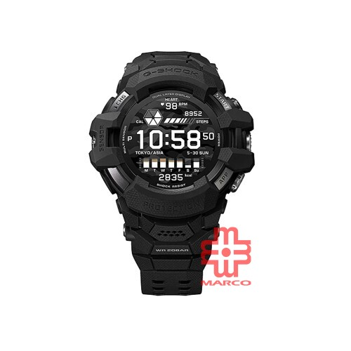 Casio G-Shock GSW-H1000-1A Black Resin Band Men Sports Watch
