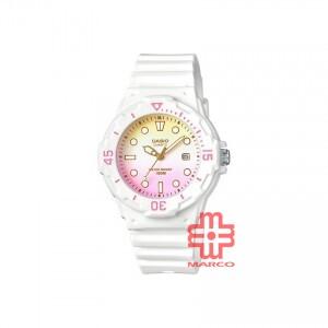 Casio General LRW-200H-4E2 White Resin Band Kids Watch