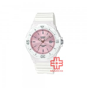 Casio General LRW-200H-4E3 White Resin Band Kids Watch