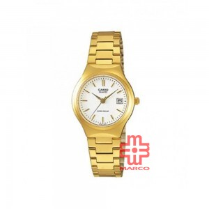 Casio General LTP-1170N-7A Gold Stainless Steel Band Women Watch