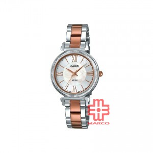 Casio General LTP-E409RG-7A Stainless Steel Band Women Watch