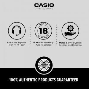 Casio General LTP-V007L-7E2 Dark Brown Leather Band Women Watch