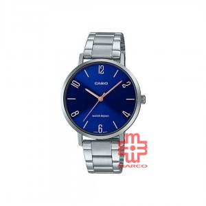 Casio General LTP-VT01D-2B2 Silver Stainless Steel Women Watch