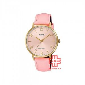 Casio General LTP-VT01GL-4B Pink Leather Women Watch