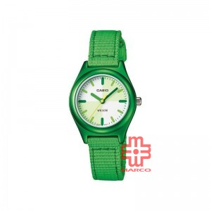 Casio General LTR-16B-3E Green Fabric Band Kids Watch