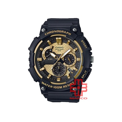 Casio General MCW-200H-9A Black Resin Band Men Youth Watch