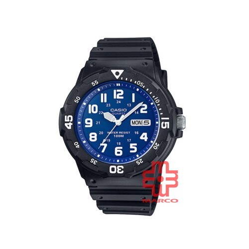 Casio General MRW-200H-2B2 Black Resin Band Men Youth Watch