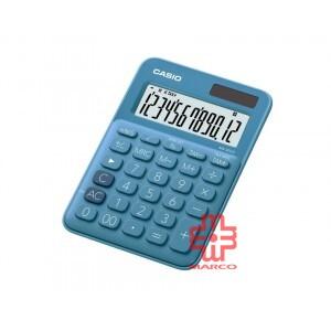Casio Colorful Calculator MS-20UC-BU Blue