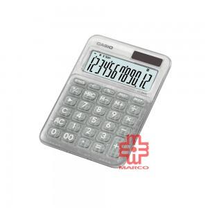 Casio Colorful Calculator MS-20UC-L-C Clear