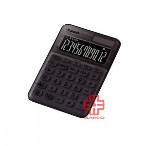 Casio Colorful Calculator MS-20UC-L-CBK Clear Black