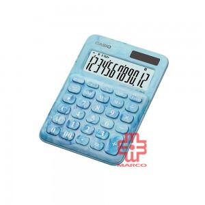 Casio Colorful Calculator MS-20UC-L-MBU Marble Blue
