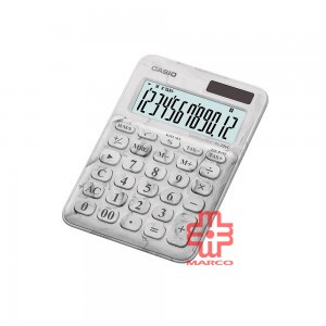Casio Colorful Calculator MS-20UC-L-MWE Marble White