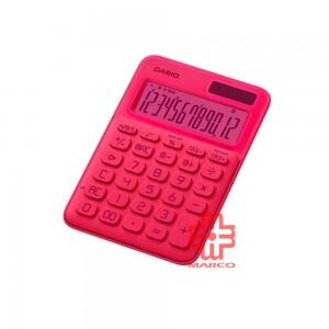 Casio Colorful Calculator MS-20UC-L-NPK Neon Pink