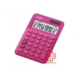 Casio Colorful Calculator MS-20UC-RD Fuchsia