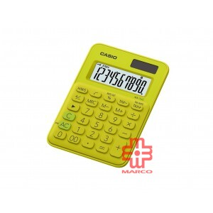 Casio Colorful Calculator MS-7UC-YG