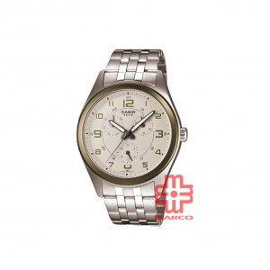 Casio General MTP-1352D-8B2 Stainless Steel Band Men Watch