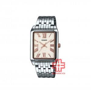 Casio General MTP-TW101D-7A Silver Stainless Steel Band Unisex Watch