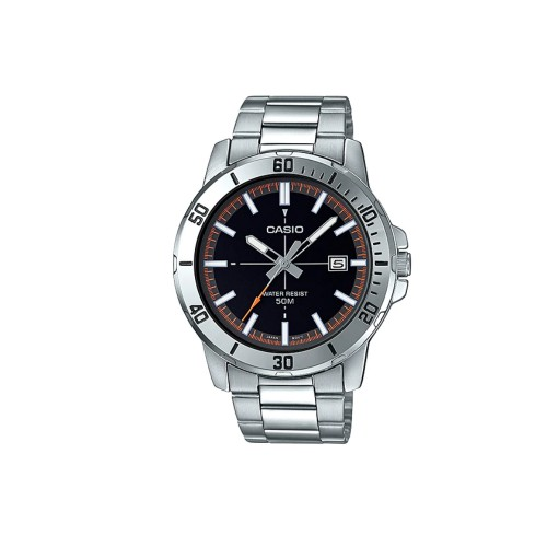 Casio General MTP-VD01D-1E2V Stainless Steel Band Men Watch