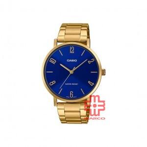 Casio General MTP-VT01G-2B2 Gold Stainless Steel Men Watch