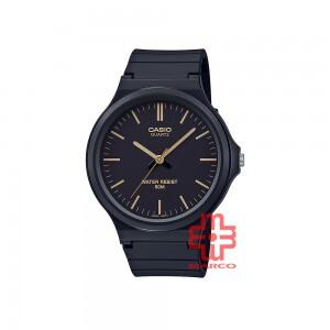 Casio General MW-240-1E2 Black Resin Band Men Watch