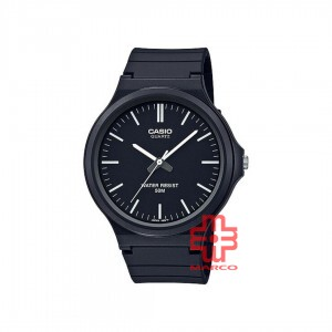 Casio General MW-240-1E Black Resin Band Men Watch