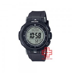 Casio Protrek PRG-30-1 Black Silicone Band Men Watch