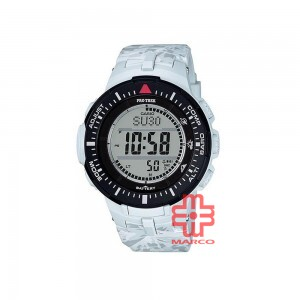 Casio Protrek PRG-300CM-7 White Camouflage Resin Band Men Watch
