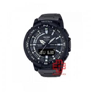Casio Protrek PRT-B70YT-1 Black Titanium Band Men Watch