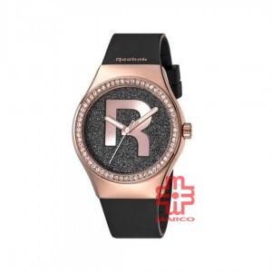 REEBOK CLASSIC RC-IDD-L2-S3IB-B3 BLACK SILICON STRAP WOMEN WATCH