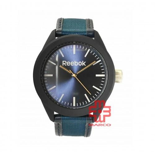 [Pre-sales]REEBOK RF-SPD-G2-PBMT-TG BLACK NAVY BLUE CLOTH MEN'S WATCH