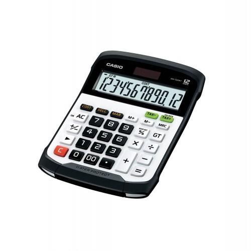Calculator White+Black Casio Water Proof WD-320MT