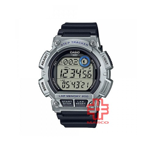 Casio General WS-2100H-1A2 Black Resin Band Men Youth Watch